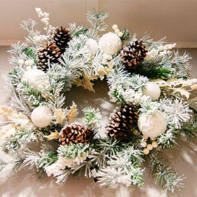 Christmas Trees, Garlands & Wreaths
