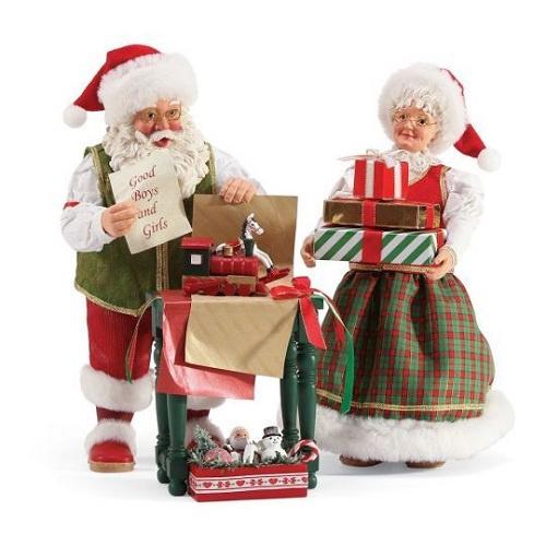 Santa & Mrs Clause